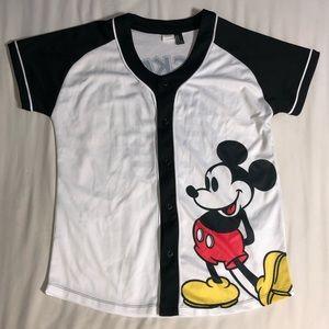 Mickey Mouse Baseball Jersey